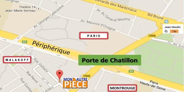 Stockage à la Porte de Chatillon